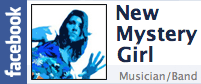 New Mystery Girl Facebook Badge